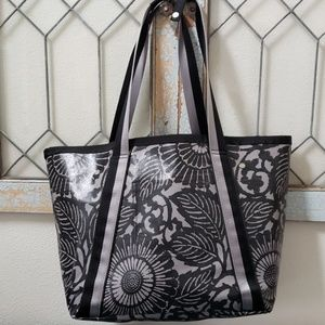 Lululemon tote with removable canvas bag
